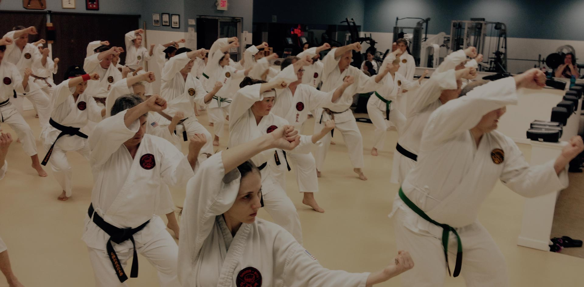 Merritt Island Karate Dojo 6pm workout